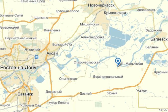 В Ростовской области на реке