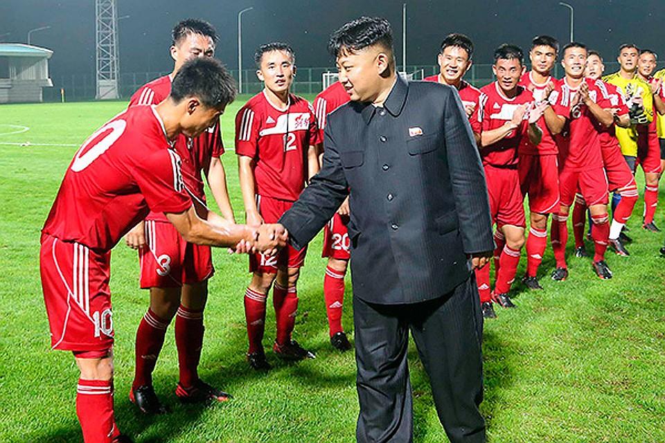 Сборная КНДР по футболу и Ким Чен ЫН